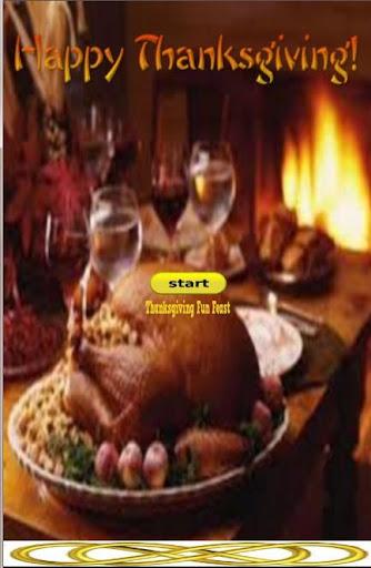 Thanksgiving Fun Feast Game 2