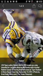 NOLA.com: LSU Football news - screenshot thumbnail