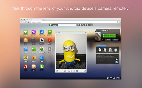 AirDroid - Android on Computer - screenshot thumbnail