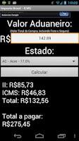 Screenshot of Imposto Brasil
