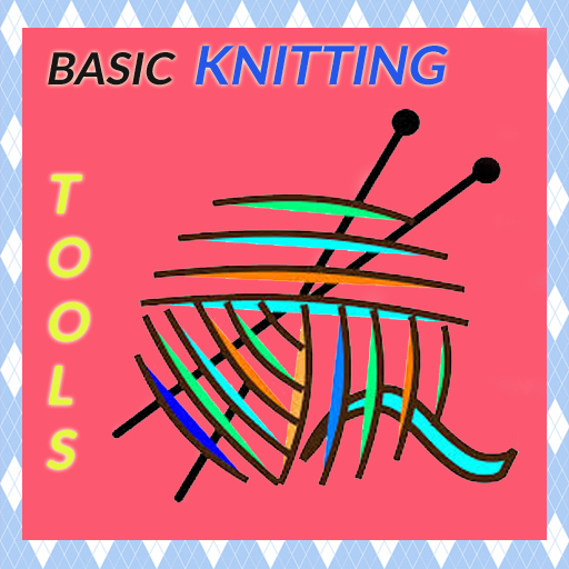 Basic Knitting Tools.