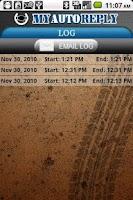 Screenshot of MyAutoReply