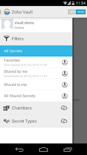 Zoho Vault - Password Manager - screenshot thumbnail