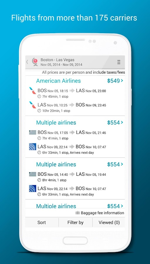 Last MinuteTravel Deals- screenshot
