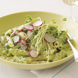Penne with Peas and Ricotta Recipe