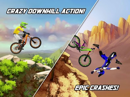 Bike Mayhem Mountain Racing - screenshot thumbnail
