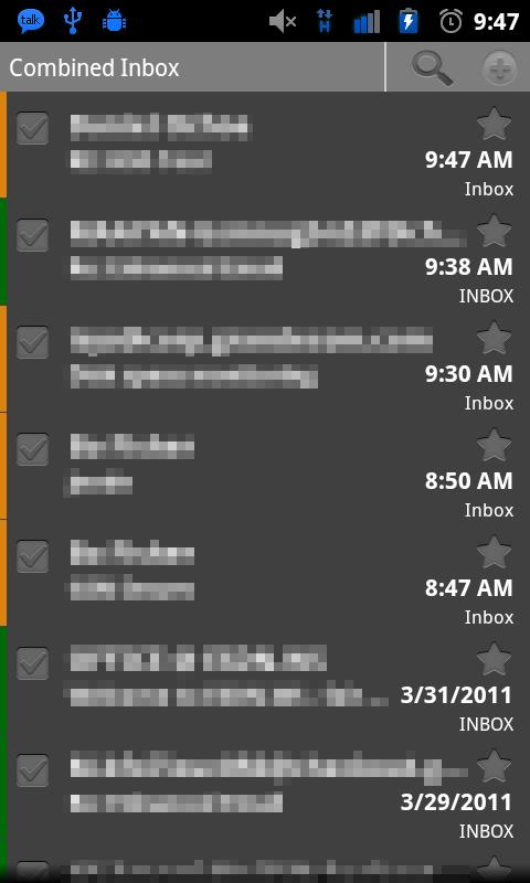 Enhanced Email- screenshot