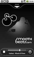 Screenshot of SmoothBeats.com Radio