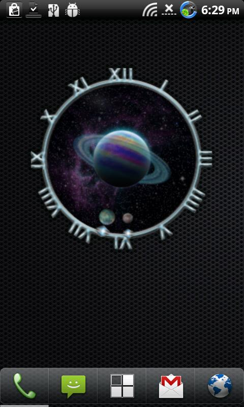 10 Galaxy Clocks- screenshot