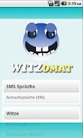 Screenshot of Witz o mat
