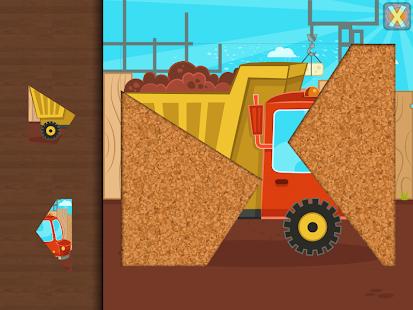 cars trucks puzzle for kids screenshot thumbnail
