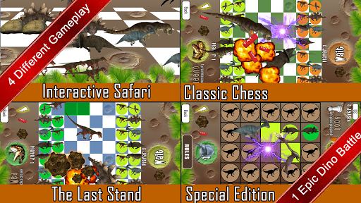 恐龙西洋棋 Dino Chess For Kids