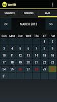Screenshot of WorkIt - Gym Workout Tracker