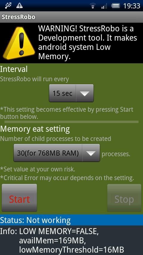 StressRobo- screenshot
