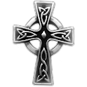 Celtic Cross sticker!! logo