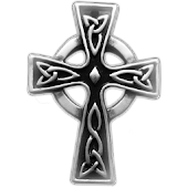 Celtic Cross sticker!!