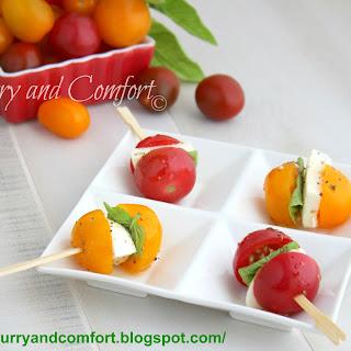 Caprese Salad Bites Appetizer