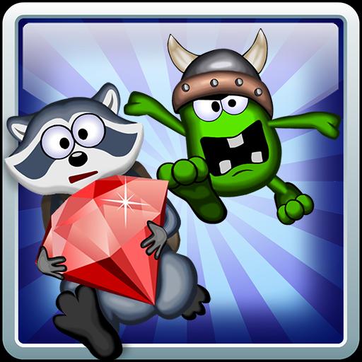 Dig And Run Raccoon! LOGO-APP點子