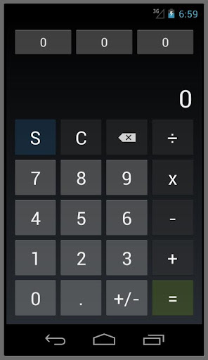 Calculator S