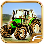 Tractor Parking Farm Driver