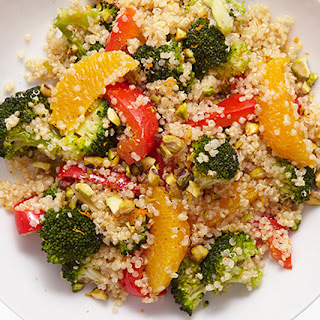 Quinoa Salad with Orange and Pistachio Recipe