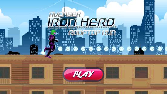 Avenger Iron Hero Rooftop Run