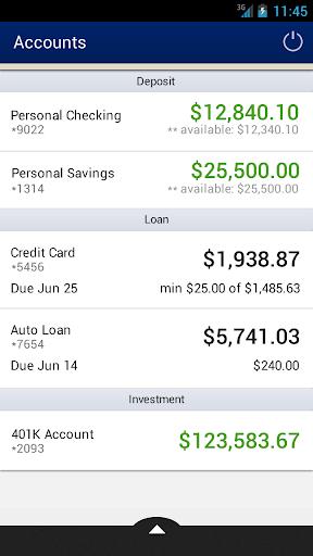 F M Bank - Mobile