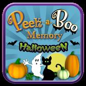 Peek-a-Boo Memory Halloween