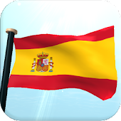 Spain Flag 3D Live Wallpaper