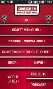 Craftsman Tools and DIY App - screenshot thumbnail