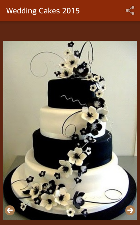 best wedding cake designs 2017 wedding cakes ideas 2018 android apps on play 11444