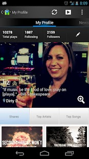 Motorola Music Player - screenshot thumbnail