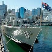 ANMM's HMAS Vampire tour
