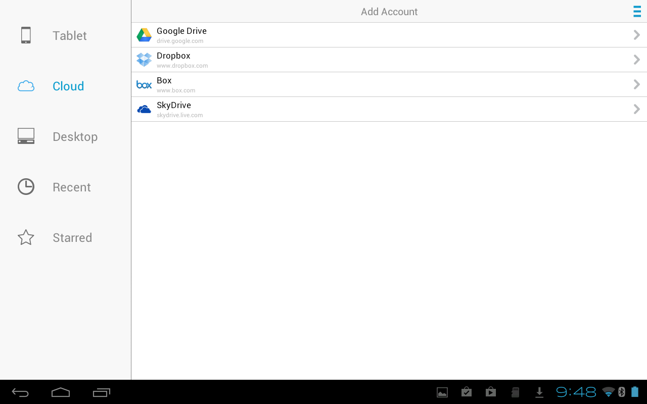 Docs To Go™ Free Office Suite screenshot #10