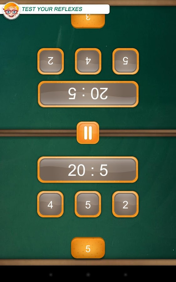 Math Duel: 2 Player Math Game- screenshot