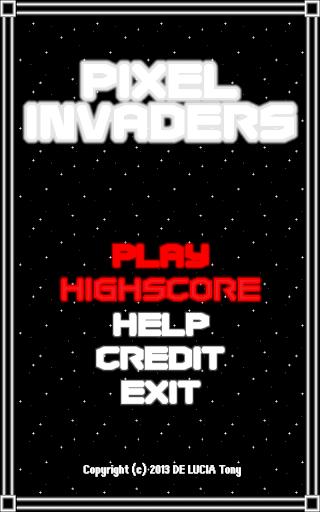 Pixel Invaders free