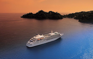 Silver Wind plies the Caribbean. Guests onboard will witness some of the most memorable sunsets of their lives.