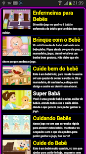 Jogos de cuidar de bebe - screenshot thumbnail