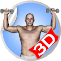 Shoulder 3D Workout Exercise icon
