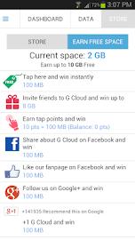 G Cloud Backup Screenshot 21
