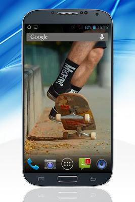 Skateboarding Live Wallpaper - screenshot