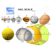 Hail Scale for Storm Spotters