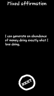 Mixed affirmations - screenshot thumbnail