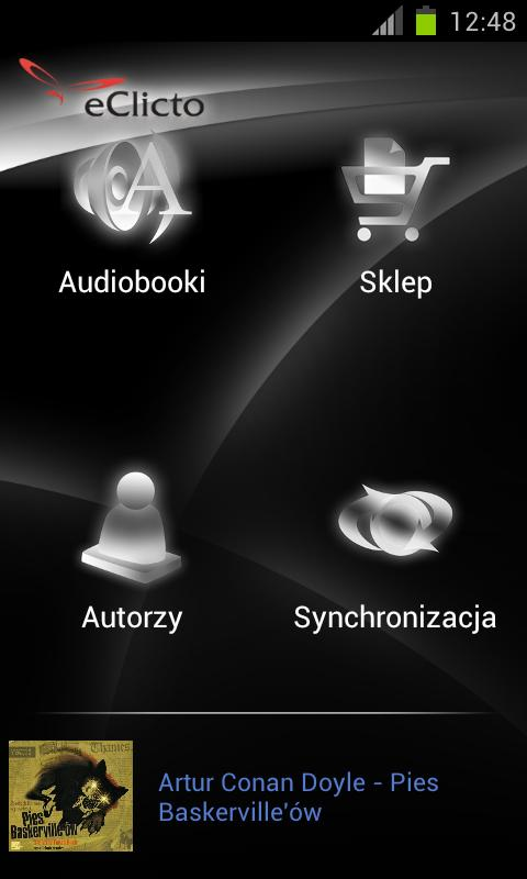 eClicto Audiobooki - screenshot