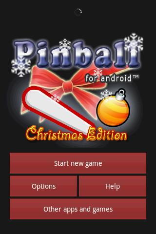 Pinball XMas Edition- screenshot