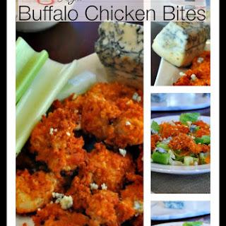 Light Buffalo Chicken Bites