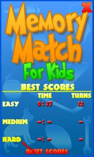 Memory Match For Kids - screenshot thumbnail