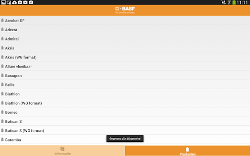 BASF producten- screenshot thumbnail