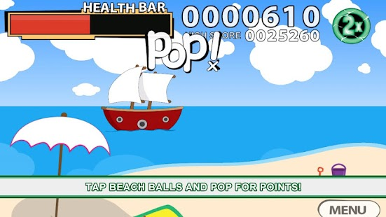 Beach Ball Blast Free - screenshot thumbnail