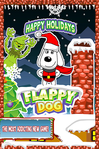 Flappy Snoopy Dog Christmas